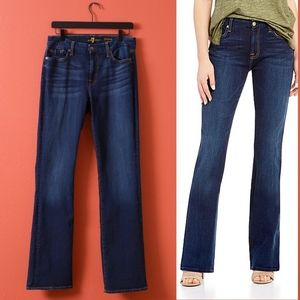 7 for all mankind Kimmie Bootcut Dark Jeans 31